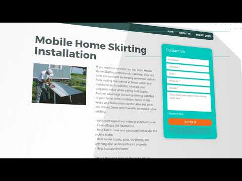Professional Mobile Home Skirting Services