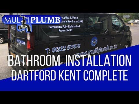 Dartford Bathroom Installation Finished in Kent | MultiPlumb Bathrooms, Plumbing & Heating