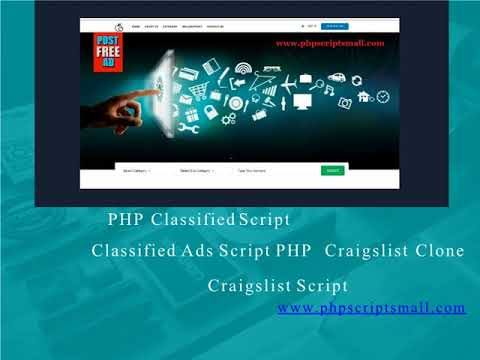 Classified Ads Script PHP (PHP Scripts Mall)
