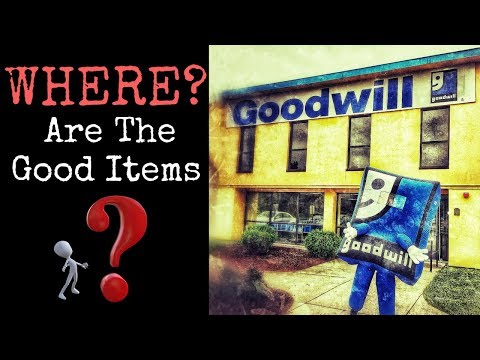 DO YOU TRULY KNOW ABOUT GOODWILL?