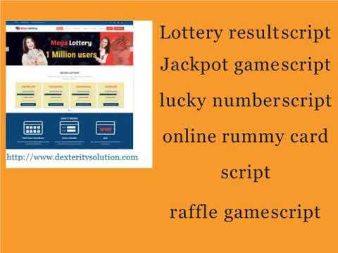 online rummy card script | raffle game script