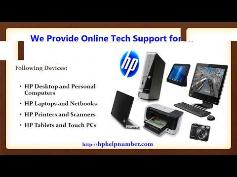 HP Support Number for Online Technical Help