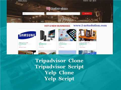 Tripadvisor Clone, Tripadvisor Script, Yelp Clone, Yelp Script