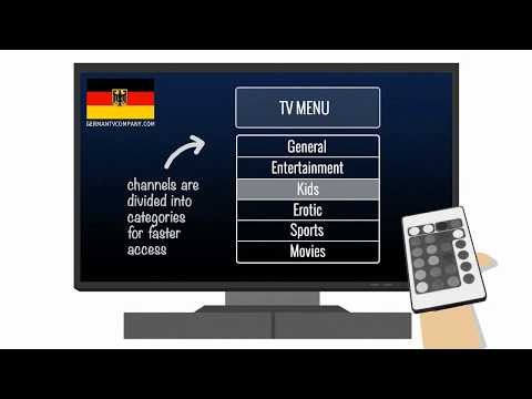 German TV: How to Watch Over 90 TV channels in high quality