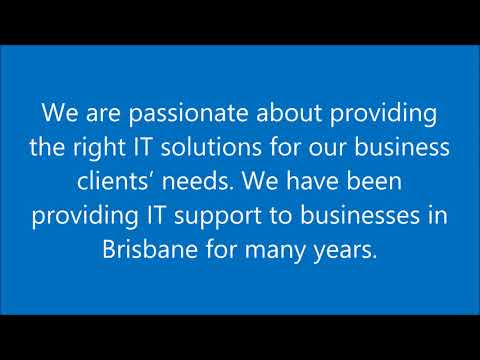 IT Support Brisbane