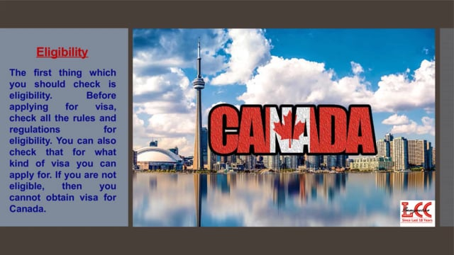Things to keep in mind before applying for Canadian Visa
