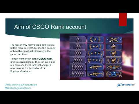Become a best Player with High CSGO Rank account