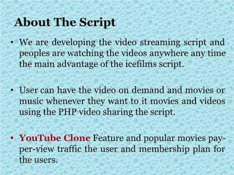 You Tube Clone Script   You Tube Clone   You Tube Script   Php Video Scripts