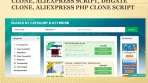 Aliexpress Clone Script - Aliexpress Clone - Aliexpress Script -   Dhgate Clone