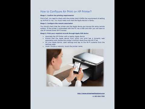 Learn How to Configure Air Print on HP Printer?