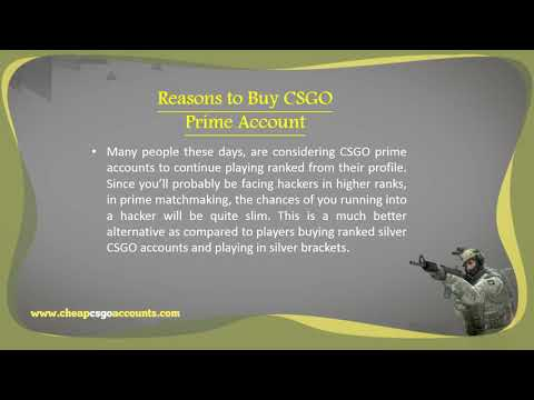Enter into Prime Matchmaking pool with CSGO Prime Account