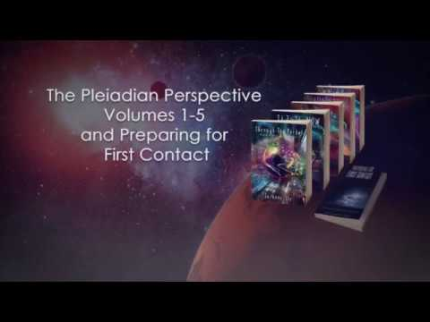 The Pleiadian Perspective Volumes 1-5 and Preparing for First Contact Book Trailer