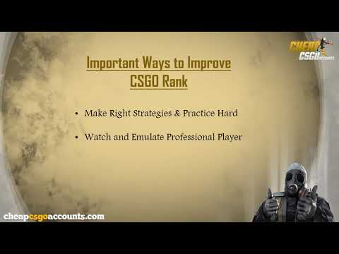 The Best Way to Improve your Rank in CSGO