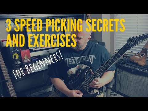 3 Speed Picking Secrets (and Exercises) for Beginners