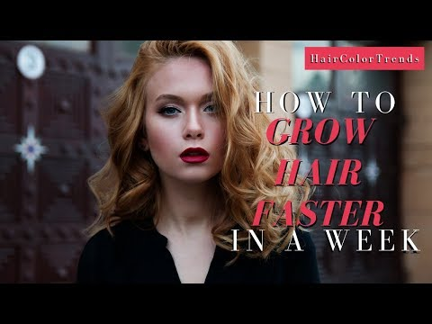 How To Grow Your Hair Faster in a Day