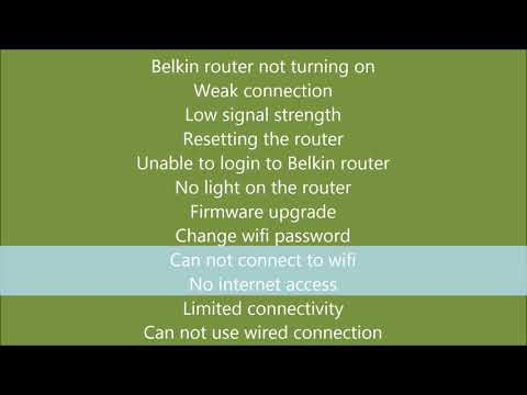 Support For Belkin Routers