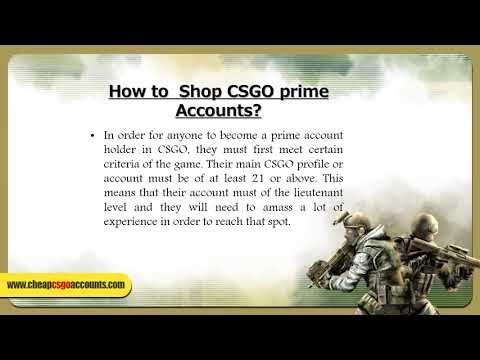 Why Prime Accounts are so Important for a CSGO player?