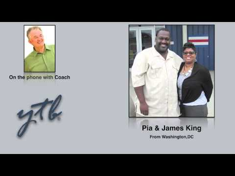Pia & James King Interview with Coach