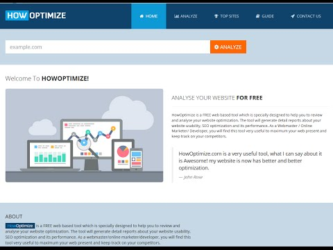 HowOptimize Review-Get your website on steroids with HowOptimize and see result overnight FOR FREE!