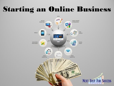 setting up your online business to earn money