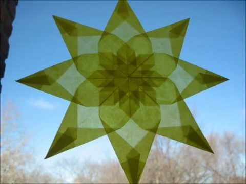 How To: Waldorf Window Star - Tutorial Version 1