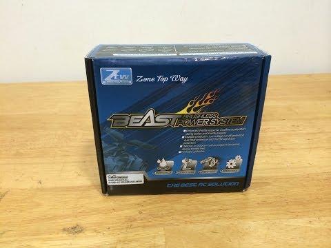 ZTW Beast Waterproof 1/8 Brushless Combo Unboxing
