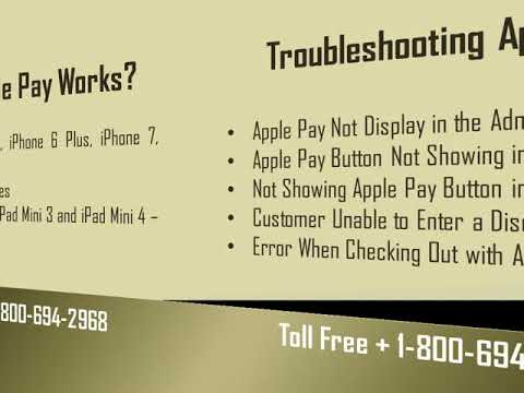 Dial Apple Pay Support Number 1-800-694-2968 For Apple Pay Help