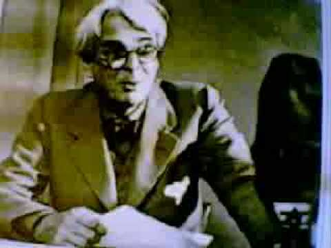 W.B.Yeats Reading His Own Verse