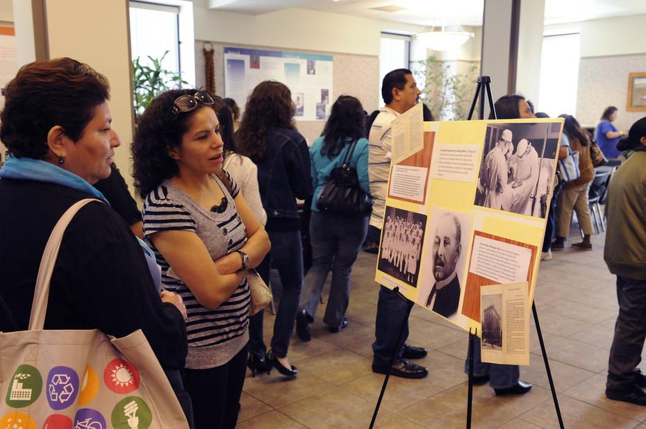 Parent Session Library Exhibit