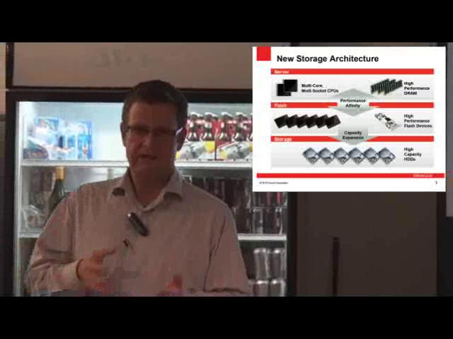 Oracle Flash Storage Technology - NSW March 2011