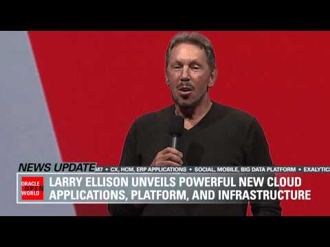 Watch Larry Ellison's Sunday Keynote at Oracle OpenWorld 2014