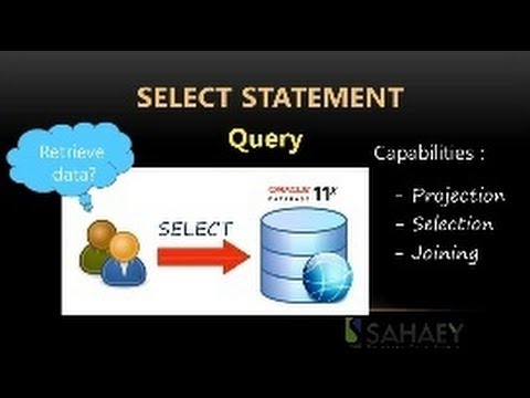 Oracle 11g SQL Tutorial & Exam 1Z0-051 : Lesson 1 SELECT Statement
