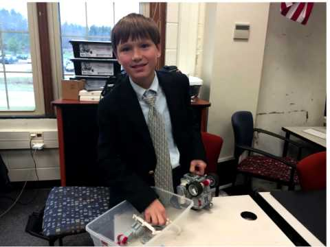 "Aaron Petzold on ""Mentoring Middle School Students Lego Robotics"""