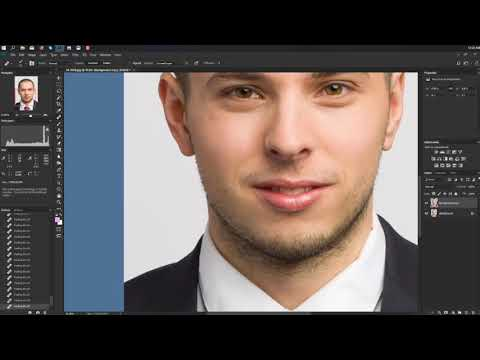 Professional Headshot Retouch Tutorial in Photoshop