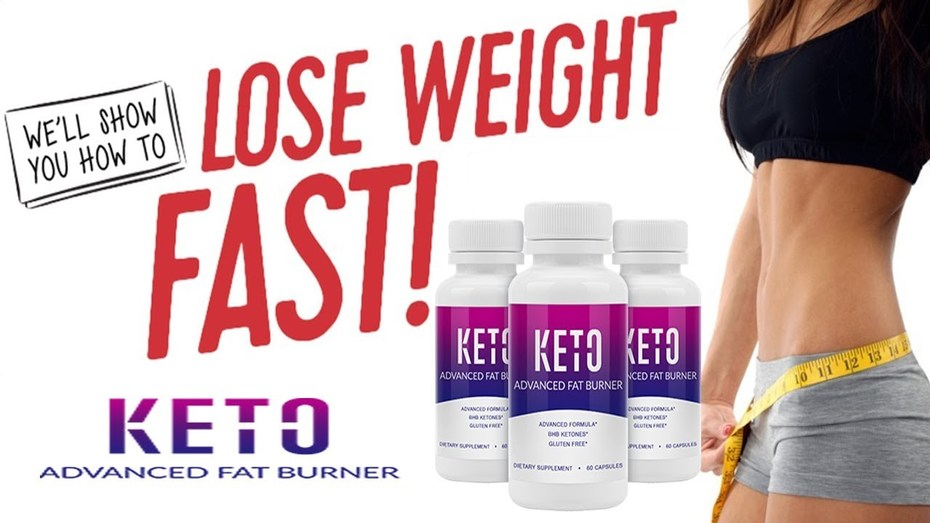 Keto Advanced Fat Burner  - Build Slimmer & Trimmed Body Shape!