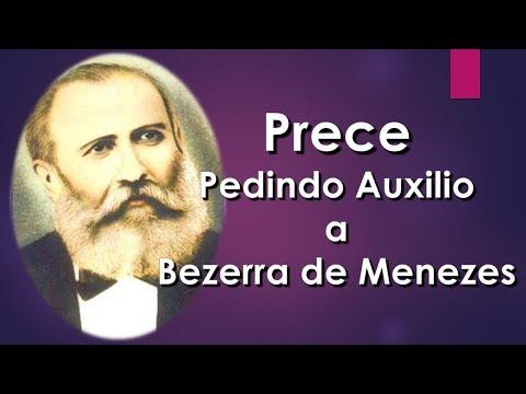Prece pedindo auxílio à Bezerra de Menezes