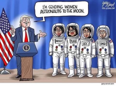Finally, Women In The Space Program