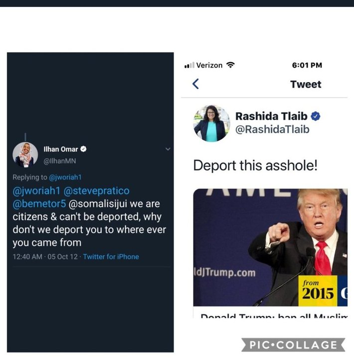 Deport Omar And Tlaib