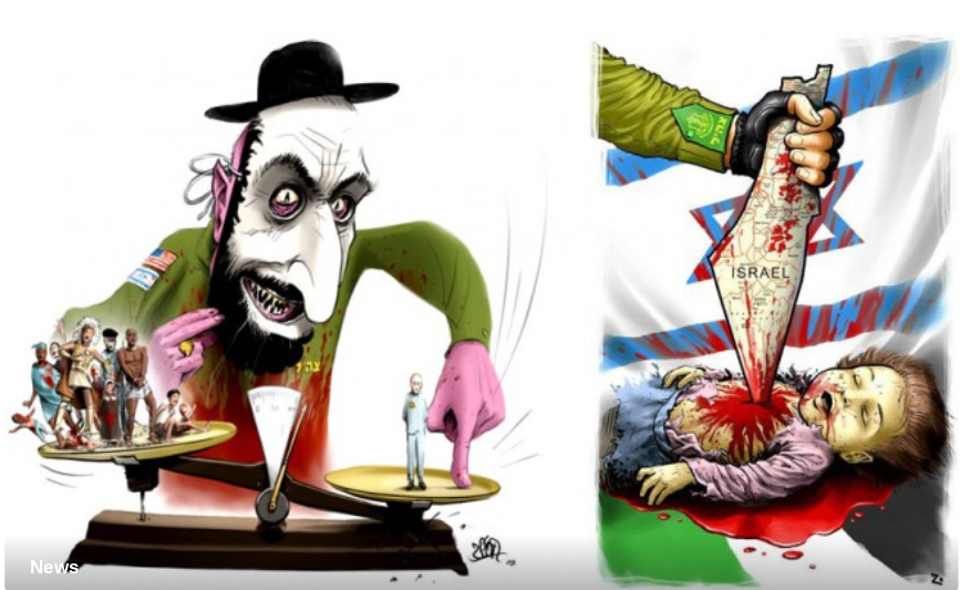 """French cartoonist named """"Zeon"""" arrested for anti semitic cartoons."""