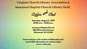 Virginia Church Library Association Coffee and Chat
