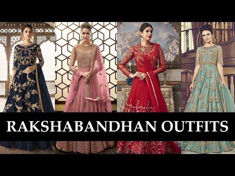 Raksha Bandhan Outfit Ideas At Fabja   रक्षाबंधन के लिए स्टाइलिश Outfits   Rakhi Collection