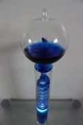 French boiler blue lamp