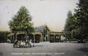 Refreshment Pavillion, Finsbury Park, c1905