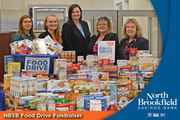North Brookfield Savings Bank Food Drive Fundraiser