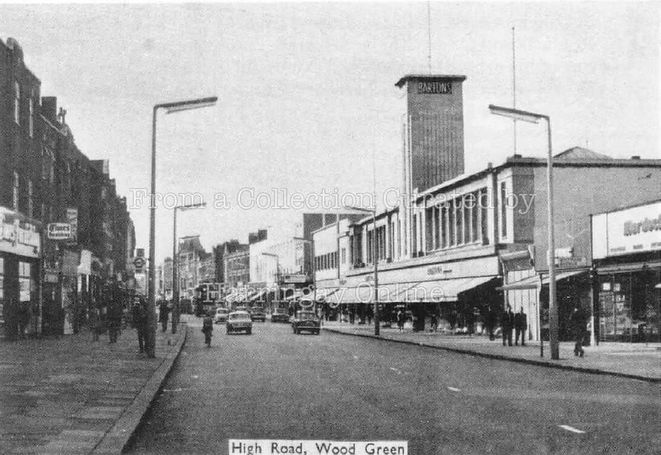 Wood High Road c1960