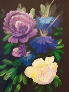 TAS Dark Floral