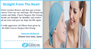 Hipec Treatment For ovarian cancer for a Qatar Based Patient had a life time experience