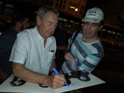 Nick Mason signing my Meddle LP