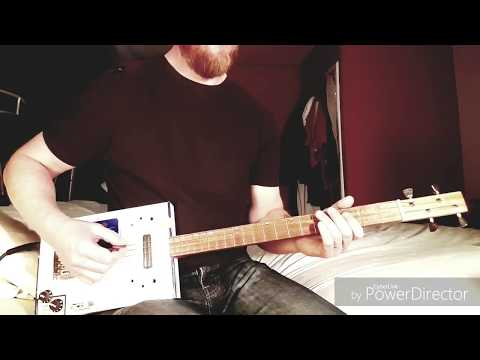 Dead Leaves And The Dirty Ground - The White Stripes - Cigar Box Guitar Cover