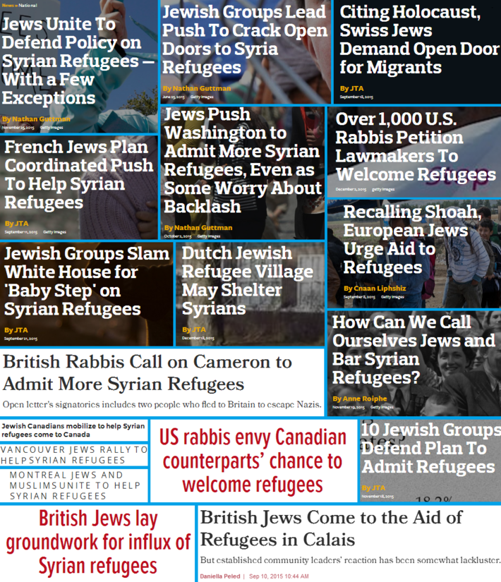 Jews Immigration and the West